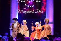 Saint Valentine's Grand Masquerade Ball 2015 / A unique #Carnival #Masquerade #Ball in a private #Palace overlooking the #GrandCanal. Live musics, talented entertainers, classical opera singers all dressed in their finest venetian extravagant #costumes. #Love is in the air..