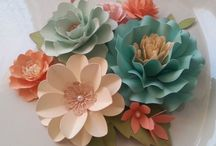 Craft - flowers - paper
