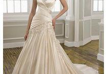 Wedding dresses & bridesmaid