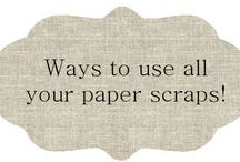 Paper & Fabric Scrap Ideas