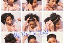 Nartural Hair-Updo
