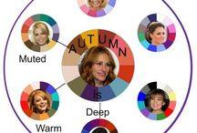 Autumn/ types / kleurpaletten