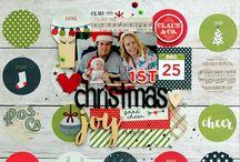 Theme:  Christmas layouts