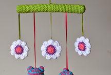 colgante a crochet
