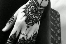 The Indian tattoo-mehendi
