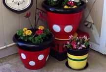 Disney Garden Ideas