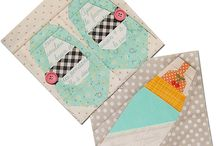paper piecing patterns / by Ina