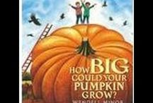 thanksgiving/fall/apple/pumpkin books and crafts