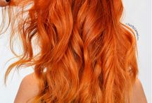orange and red hair
