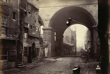 Cowgate, old Edinburgh / Researching the area around the old Mint, Edinburgh
