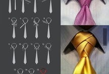 Scarves Ties and what knots / Accesorising mens necks