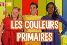 Les couleurs / Colors in French / Activities and resources for learning colors in French.
