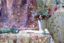 Eduard vuillard fleurs