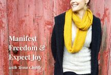Choose Freedom / This month (December 2015), we are Creating JOY by Choosing Freedom. With this board we honor all of the advice and inspiration out there about true joy & freedom. For more, visit www.theperpetualyou.com.