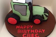Fendt birthday cake