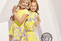 Young Versace / Famed for their iconic Medusa motif, Greek fret pattern and timeless, intricate baroque design, Versace is pleased to unveil its inaugural advertising campaign for Young Versace, with lines for Boys, Girls and Baby, aged from 0-14. Every collection offers quintessential Versace style with a youthful rock 'n' roll twist, including playful prints, vibrant colours, and mixture of patterns and designs which include a reinterpretation of the house's iconic motifs.