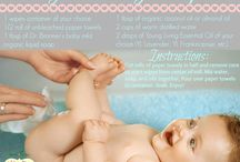 Baby essential oil recipes