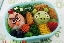 Food Fun! / Creative and fun lunches and snacks for kids.  / by Quilts Just 4 Kids