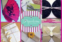 Paperlicious - For the love of Paper / We're Passionate about Paper We create exquisite Wedding Invitations and reception stationery, invitations for all occasions, handcrafted favor and gift boxes, personalized Stationery, and paper crafts and tools. We also offer in-house die cutting for our DIY customers and have a range of pockets, covers & envelopment designs for you to choose from as well as favour and invitation boxes, thank you tags etc . All our designs are available in a variety of colours, textures and paper.