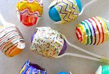Easter egg rattle
