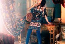Anna Sui - Textile project