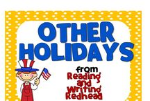 Other Holidays Activities for Elementary Students / Other Holidays Activities for Elementary Students