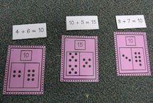 Math- addition  / by Kristine Bork
