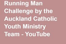Running Man Challenge / As a Fit for Mission initiative of the Auckland Catholic Diocese, the Auckland Catholic Youth and Young Adult Ministry team were keen to share our ministry with young people via the running man challenge. The hashtag signs are promoting our World Youth Day Auckland Experience planned for 30 & 31 July and our Diocesan Pastoral Plan Fit for Mission. Our Bishop Patrick Dunn can dance. Is your Bishop or priest up for the challenge?  #RunningManChallenge