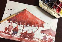 Galleria d'Arte moderna e contemporanea - IT / International Watercolor Contest 2016 - Galleria Esdè