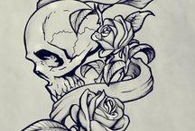 desenho de tattoo