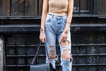 - MODA Jeans & co. donna - / * OUR SOURCE OF INSPIRATION is the look of the people on the streets of the world , the style of celebrities and fashion shows of FashionWeek Milan , Paris , London , New York