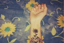 tattoo alaksa/flowers