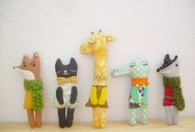 Handmade Animals / by Anita Herrmann