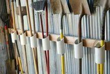 Broom storage