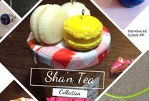 Bijoux gourmands faits main by Sha'n Tea / Bijoux gourmands faits main en porcelaine froide. Handmade sweet clay jewelry.
