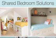Kid's Bedroom Ideas / Fun bedroom ideas for the kids!