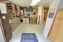 Welcome to our Shop! / Welcome to the Royal Wood Shop! We are located on Wellington street in Aurora, Ontario. www.royalwoodshop.com
