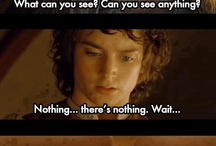 Lord of the rings and the hobbit!