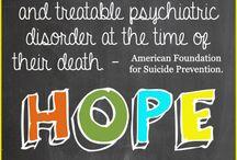 SUICIDE AWARENESS / by Liza Shuler