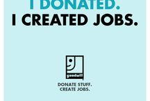 DONATE STUFF. Create Jobs.  / Ad Council Marketing for Goodwill Industries