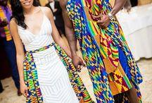 Mariés  africains