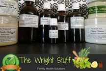 The Wright Stuff / Family Health Solutions Skin Care - Herbal Remedies - Consultations All Products 100% Pure - NO Chemicals, Preservatives or Parabens.