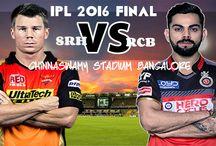 IPL 2016 Final | RCB vs SRH | IPL T20 Final chinnaswamy stadium