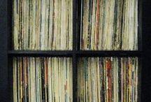 Vinyl storage/ furniture