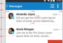 Web Design: Android UI Patterns