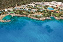 Crete - Elounda Mare Hotel / Built as a Cretan mansion, the Elounda Mare is a jewel of traditional architecture and design, with gems of antique furniture and artwork adorning the halls and accommodations. Honoured in 1987 as the first member in Greece of the prestigious Relais & Châteaux® association.