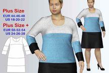 Plus size sewing patterns