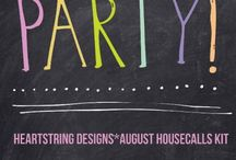 August kit: Life's A Party / Life's A Party!!! Super fun kit filled with great birthday/party goodness!!