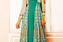Latest Party wear  Anarkalis. / A collection of party wears  Anarkalis. That can give you a magnificent.look.http://www.sanwaree.com/Buy/SALWARS/Anarkali-Dresses