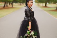 Black Wedding Attire